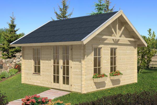 Hétvégi faház építés Bern 1