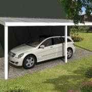Prémium carport nyitott garázs építés, terasz tető építés
