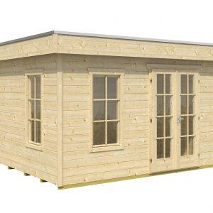 Minőségi szerszámtároló faház tetőfedéssel együtt