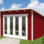 Faház Ostende design faház 380x300 cm