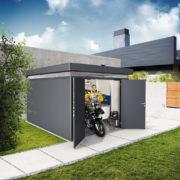hőszigetelt prémium fém kerti ház