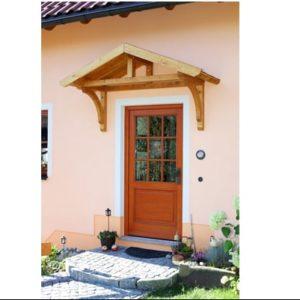 Bejárati esővédő tető Stettin
