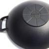 Grill kiegészítő öntöttvas wok