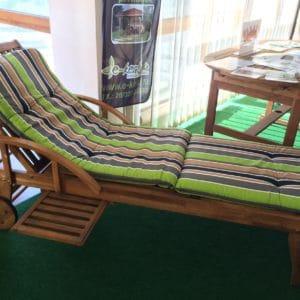 kerti bútor, napozóágy párna