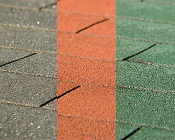 Bitumenes tetőzsindely színek