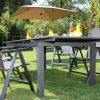 Prémium alumínium kerti bútor garnitúra bővíthető asztallal