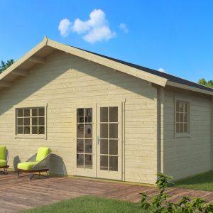 Hétvégi faház nyaraló gerendaház Weka703