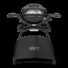 Weber Q1400 Titanium grill állvánnyal -