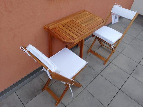 Balkon bútor Youk asztal 70x40cm