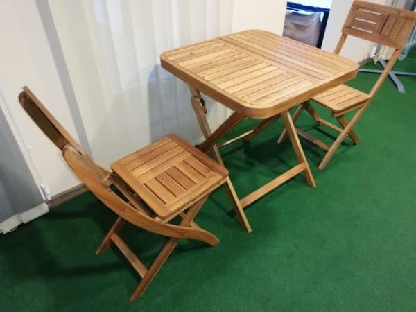 Összecsukható balkon bútor Youk 70x70cm