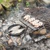 Öntöttvas grill szett