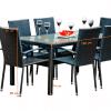 Rattan kerti bútor étkező