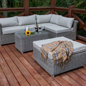 Rattan terasz bútor Imperioso lounge